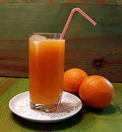 orange juice for body detox